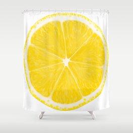 LOVE LEMON Shower Curtain