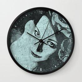 Sick On Sunday: Turquoise Wall Clock