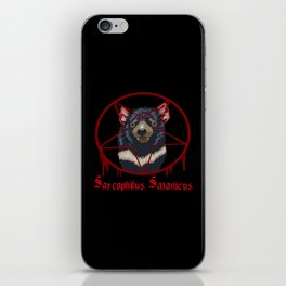 Tasmanian Devil Worshipping iPhone Skin