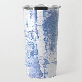 Lavender blurred watercolor design Travel Mug