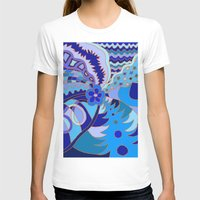 30 rock T-shirts featuring Abstract 30 by Linda Tomei