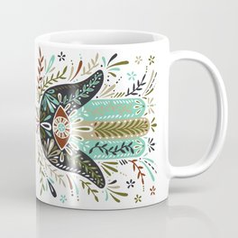 Hamsa Hand – Earth Palette Coffee Mug