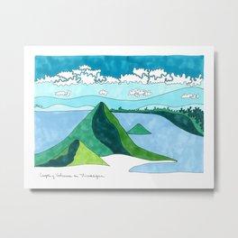 Nicaragua, Land of Lakes and Volcanoes Metal Print