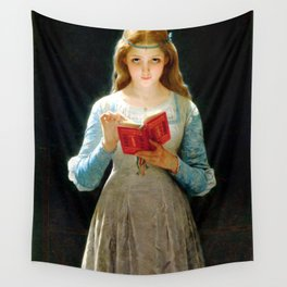 """Pierre Auguste Cot """"Ophelia"""" Wall Tapestry"""