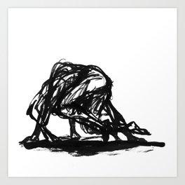Boceto gestual 4 Art Print