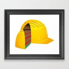 Good and sweet job Framed Art Print