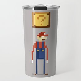 Pixel Plumber Travel Mug