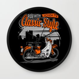 Ride Classic Style Wall Clock