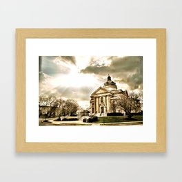 Saint Catherine Framed Art Print
