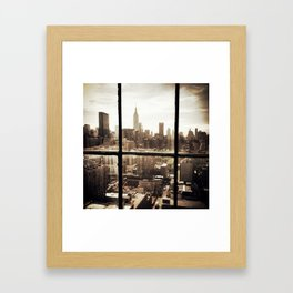i love NY vintage Framed Art Print