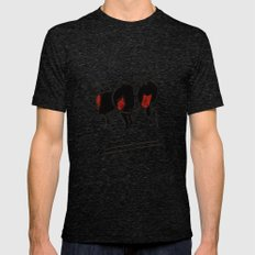 consequence Mens Fitted Tee Tri-Black SMALL