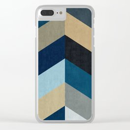 Triangular composition XX Clear iPhone Case