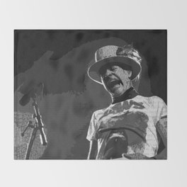 Ahead by a Century - Gord Downie from the Tragically Hip (alternate) Throw Blanket