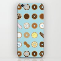 donuts iPhone & iPod Skins featuring Donuts by Dorothy Leigh