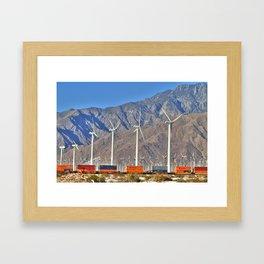 Palm Springs California  Framed Art Print