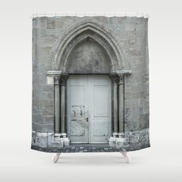 THE DOOR OF LAUSANNE Shower Curtain