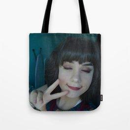 Peace Saskia Wrycroft Tote Bag
