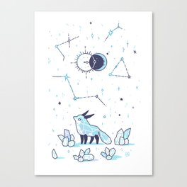 Arctic Nights Canvas Print