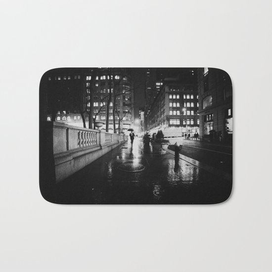New York City Noir Bath Mat