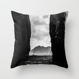 Diverge Throw Pillow