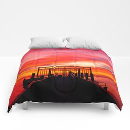 Gated Sunset Comforters