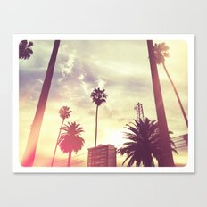Koreatown Canvas Print