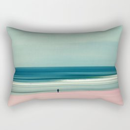 edge of the sea - abstract seascape Rectangular Pillow