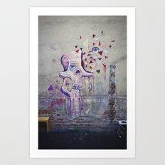 Graffskull Art Print
