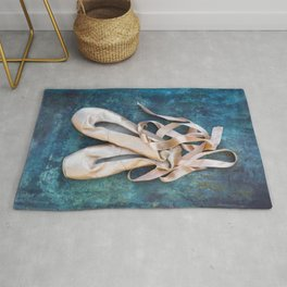 A Pair Of Pointe Shoes Rug
