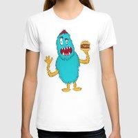hamburger T-shirts featuring Hamburger! by Chelsea Herrick