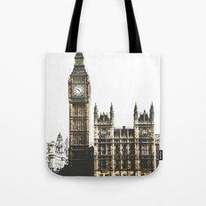 Vintage London 01 Tote Bag