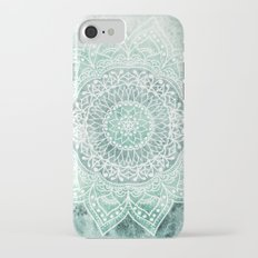 DEEP MINT MANDALA iPhone 7 Slim Case