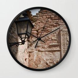 Alhambra Corner Detail Wall Clock