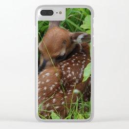Newborn Clear iPhone Case