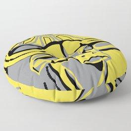 Bovine Sun Floor Pillow