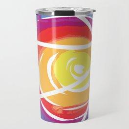Basketball sun shade color sports fan gift Travel Mug