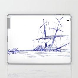 Ship Wrecked Laptop & iPad Skin