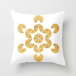 STAR TETRAHEDRON MERKABA sacred geometry Throw Pillow