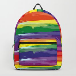 Abstract Rainbow Backpack