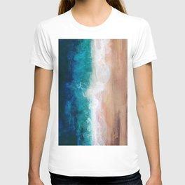 Watercolour Summer Beach IV T-shirt