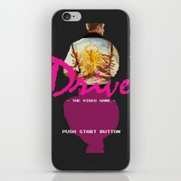 video game iPhone & iPod Skins featuring Drive Video Game by Simon Alenius
