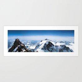Dufourspitze Art Print