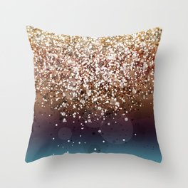 Glitteresques XIV Throw Pillow