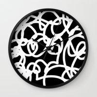 tangled Wall Clocks featuring TANGLED by SUNNASAVITA