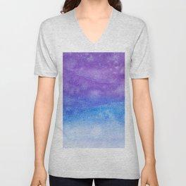 Abstract No. 167 Unisex V-Neck