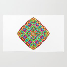 Four Owls Mandala Rug