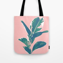 Ficus Elastica Finesse #3 #tropical #foliage #decor #art #society6 Tote Bag