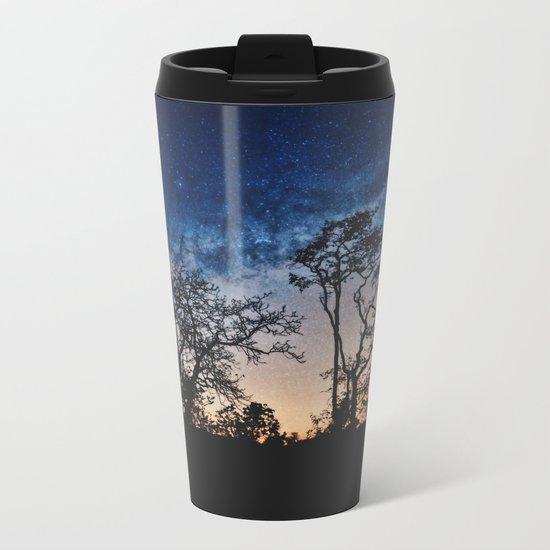Galaxy Sky Metal Travel Mug
