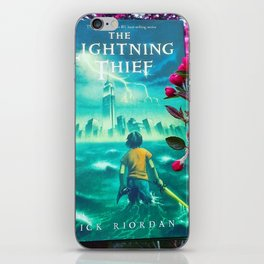 Percy Jackson & the Cherry Blossom Tree iPhone Skin