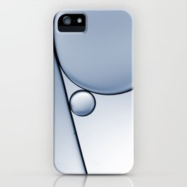 oil and water abstract I iPhone Case